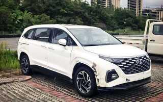 Новый минивэн Hyundai сфотографировали без камуфляжа