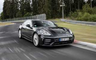 Новый Porsche Panamera поставил рекорд на Нюрбургринге