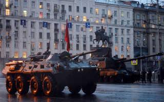 В столице прошла репетиция парада к Дню Победы