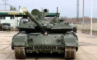 Армию получила новые танки Т-90М «Прорыв»