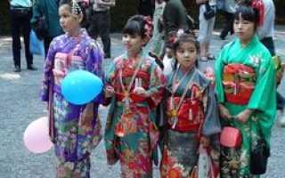 Детский праздник в Японии