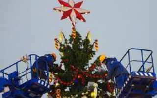 Москва прощается с новогодними праздниками