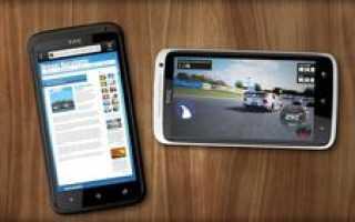 Обзор HTC S720e One X