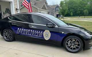 Переход полиции с Dodge на Tesla почти окупился за год