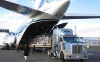 Перевозки грузов воздушным транспортом в России