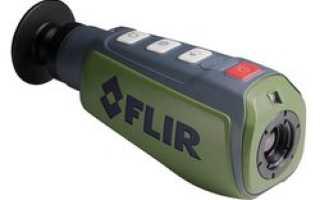 Уникальное решение: тепловизор FLIR Scout PS24