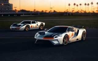 Вышли две новые версии суперкара Ford GT