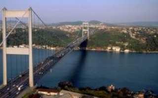Эстакада через Босфор будет открыта в назначенный срок