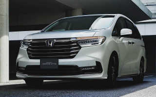 Минивэн Honda Odyssey обновился и стал технологичнее