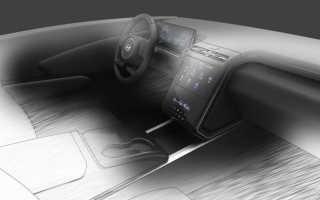 Первое изображение салона нового Hyundai Tucson