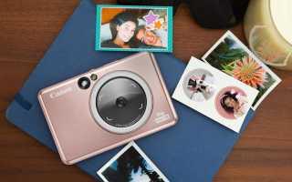 Canon выпустила современные фотокамеры с возможностью мгновенной печати