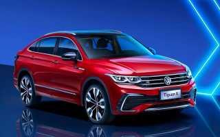 Volkswagen представил Tiguan с купеобразным кузовом