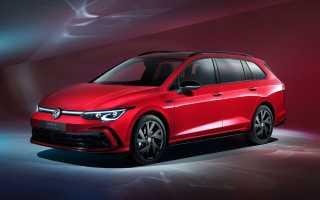 Новый универсал Volkswagen Golf представлен в двух версиях