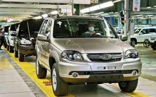 «АвтоВАЗ» начал выпускать внедорожники Niva под маркой Lada