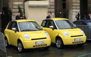 В Париже открывается прокат электромобилей