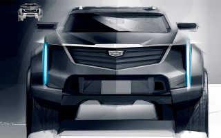 Cadillac опубликовал изображение таинственного внедорожника