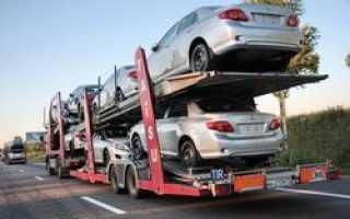 В России дорожают автомобили