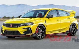 Honda Civic Type R станет трехмоторным и полноприводным