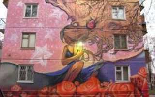 Дома некоторых городов Подмосковья украсят граффити