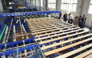 В Хабаровском крае заработал завод строганных пиломатериалов СП «Аркаим»