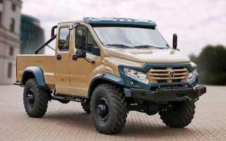 В продаже появился первый в мире пикап ГАЗ «Вепрь Next»