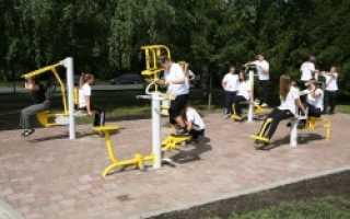 В Приморье строятся спортивные площадки для массовых занятий спортом
