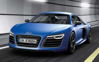 Audi не стала вносить серьезные изменения в новый R8