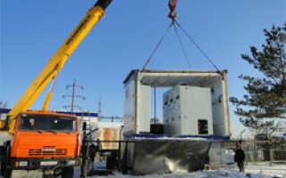 Модульные здания Барнаульских узлов электросетей