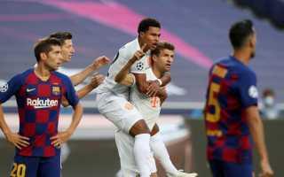 «Бавария» «раздавила» «Барселону» и вышла в полуфинал Лиги чемпионов