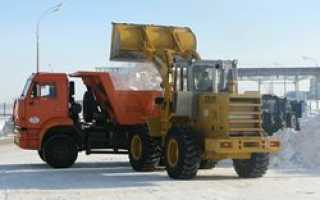 Самосвал МАЗ МАН-652538 успешно справится с расчисткой снежных завалов