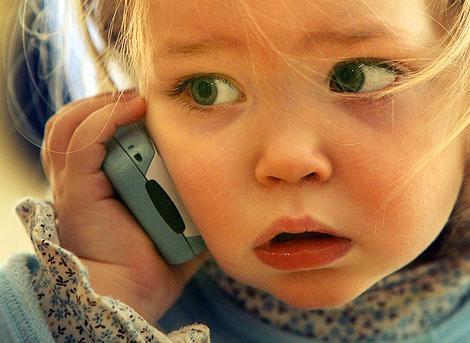 первый мобильник ребёнку