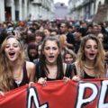 В Италии студенты митингуют против сокращения финансирования вузов