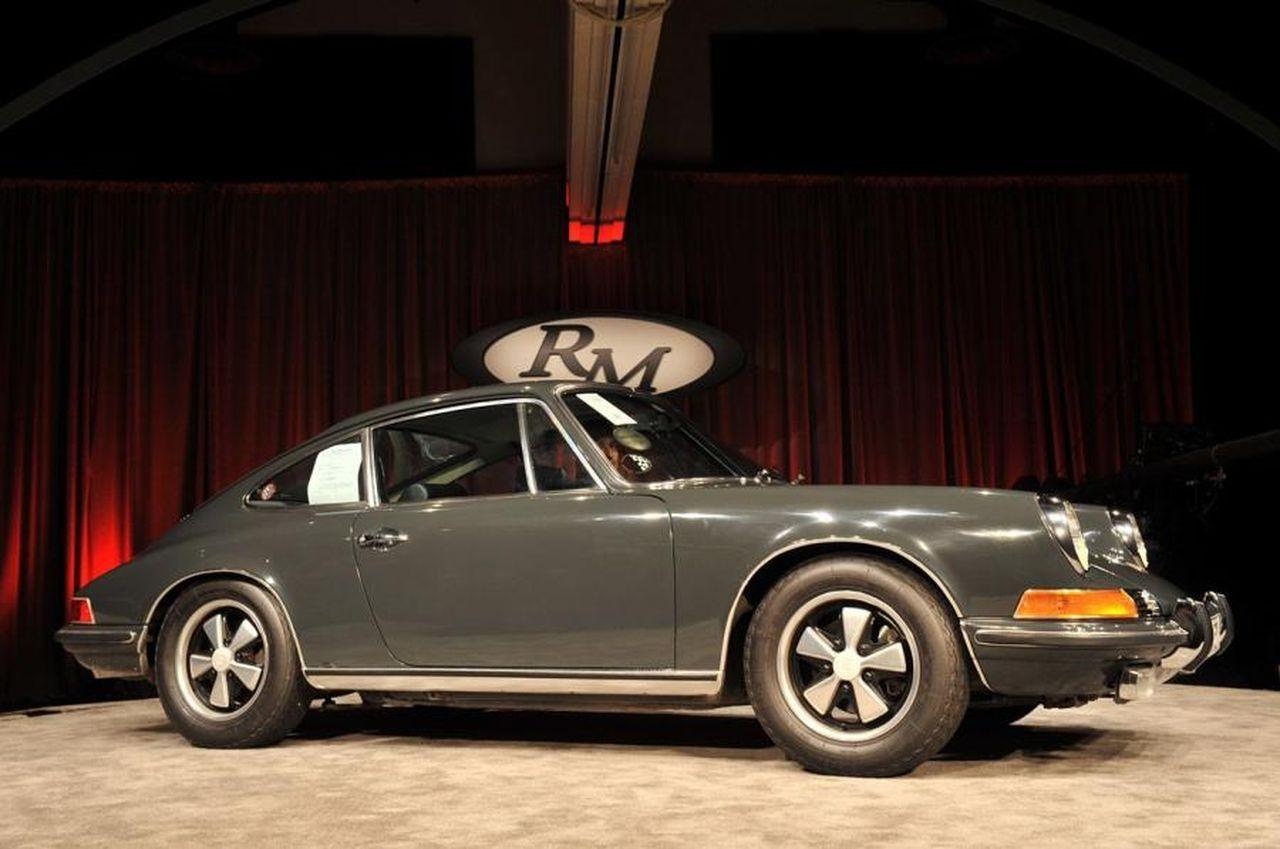 МакКуин Porsche 911 1970 года 01