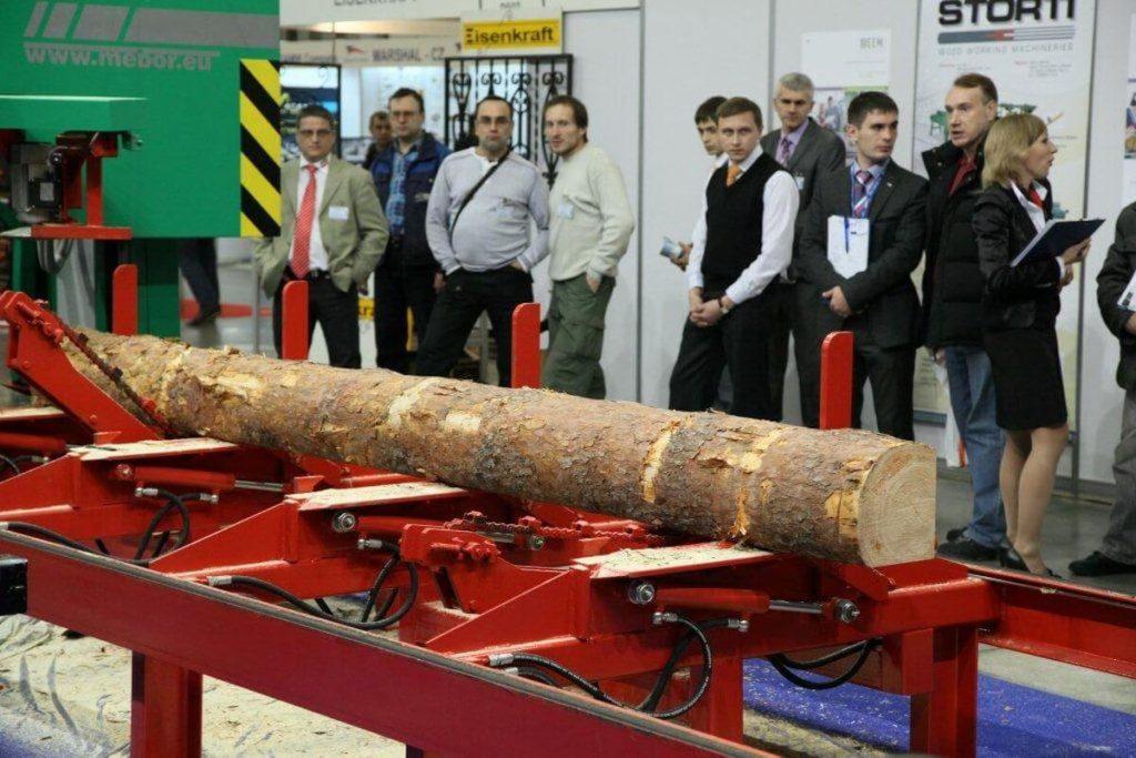 Специализированная выставка технологий деревообрабатывающей промышленности