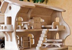 Игрушка Деревянный домик