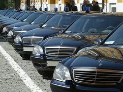 Дорогие автомобили чиновников