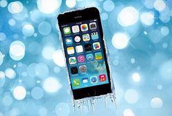 iPhone замерз