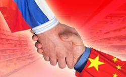 Россия-Китай рукопожатие