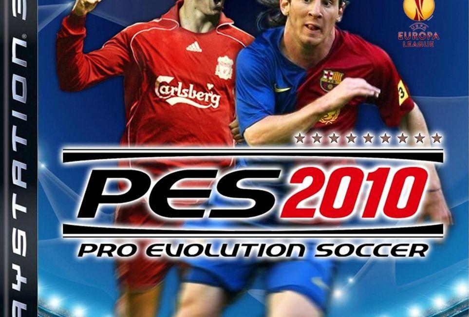 PES 2010 - футбольный симмулятор