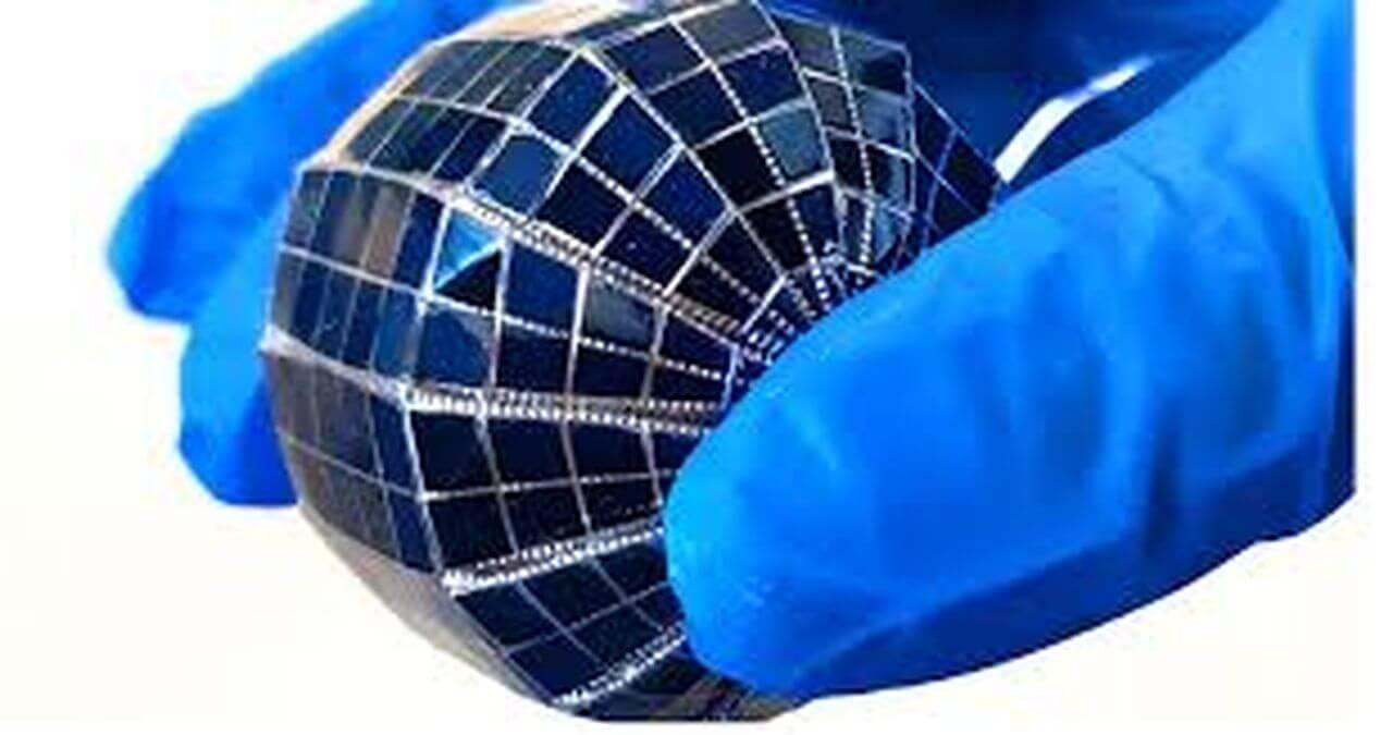 Шарообразные солнечные батареи