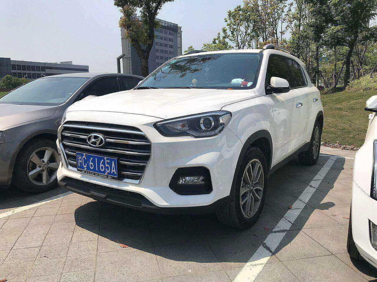 Современный Hyundai ix35 представлен только в Китае. Фото: ru.wikipedia.org