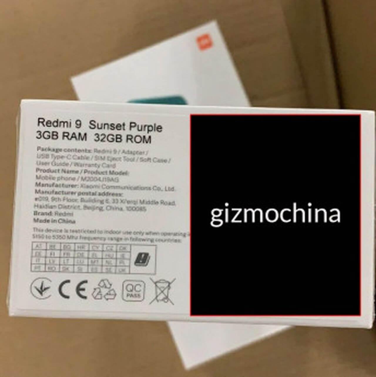 Xiaomi Redmi 9 3GB Ram 32GB Rom
