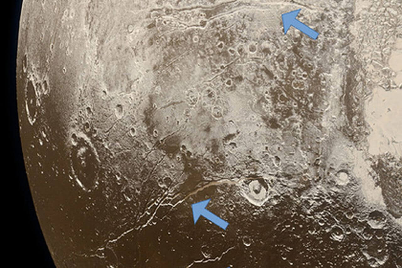 Жидкий океан на Плутоне