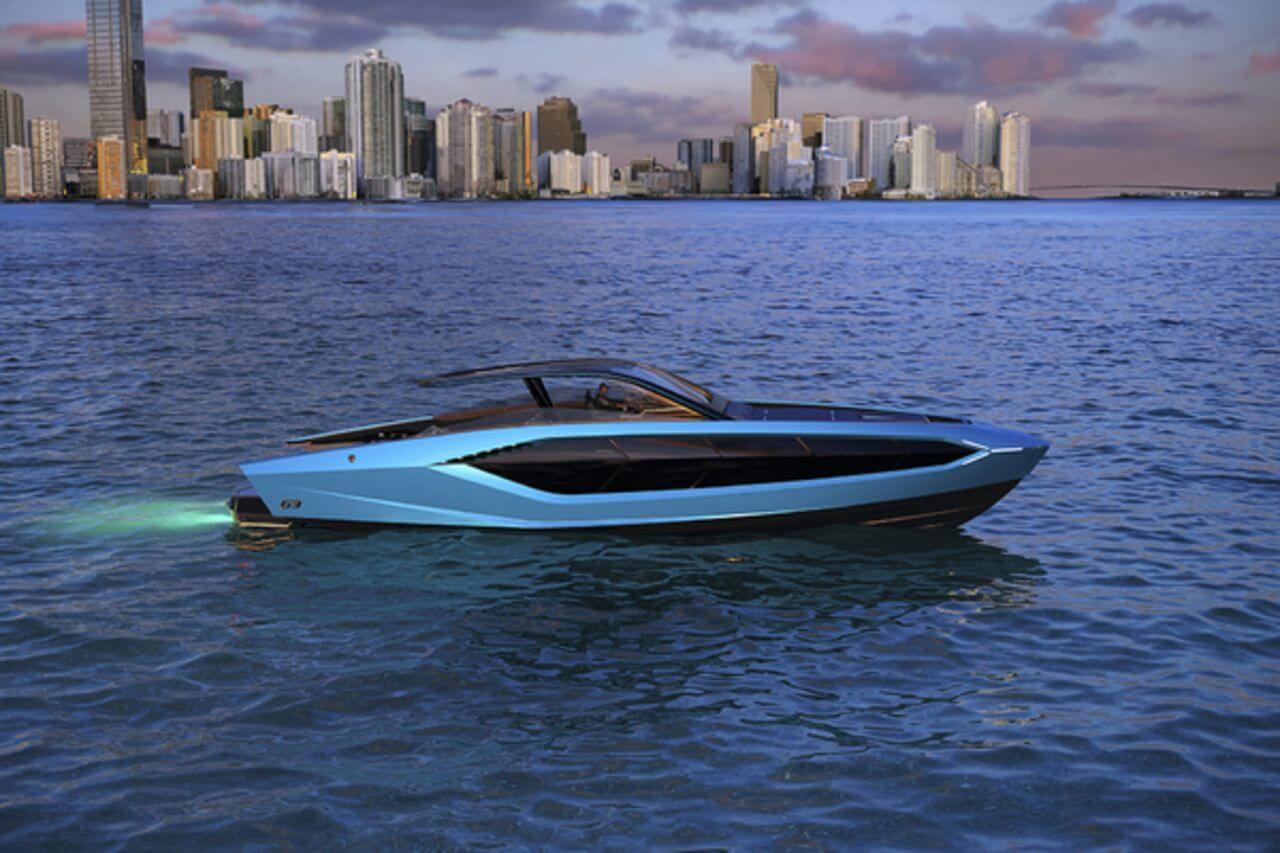 Яхта Lamborghini