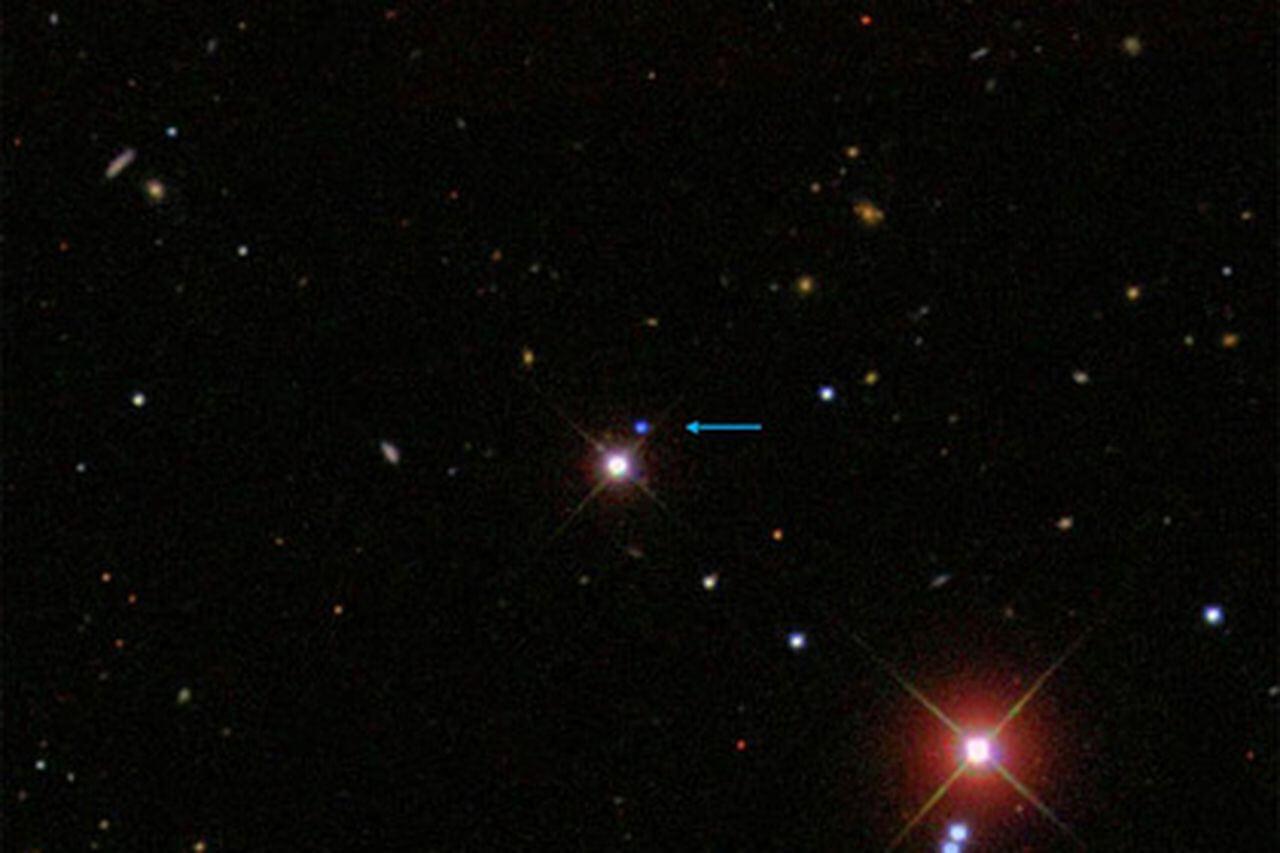 аномальный звездный объект