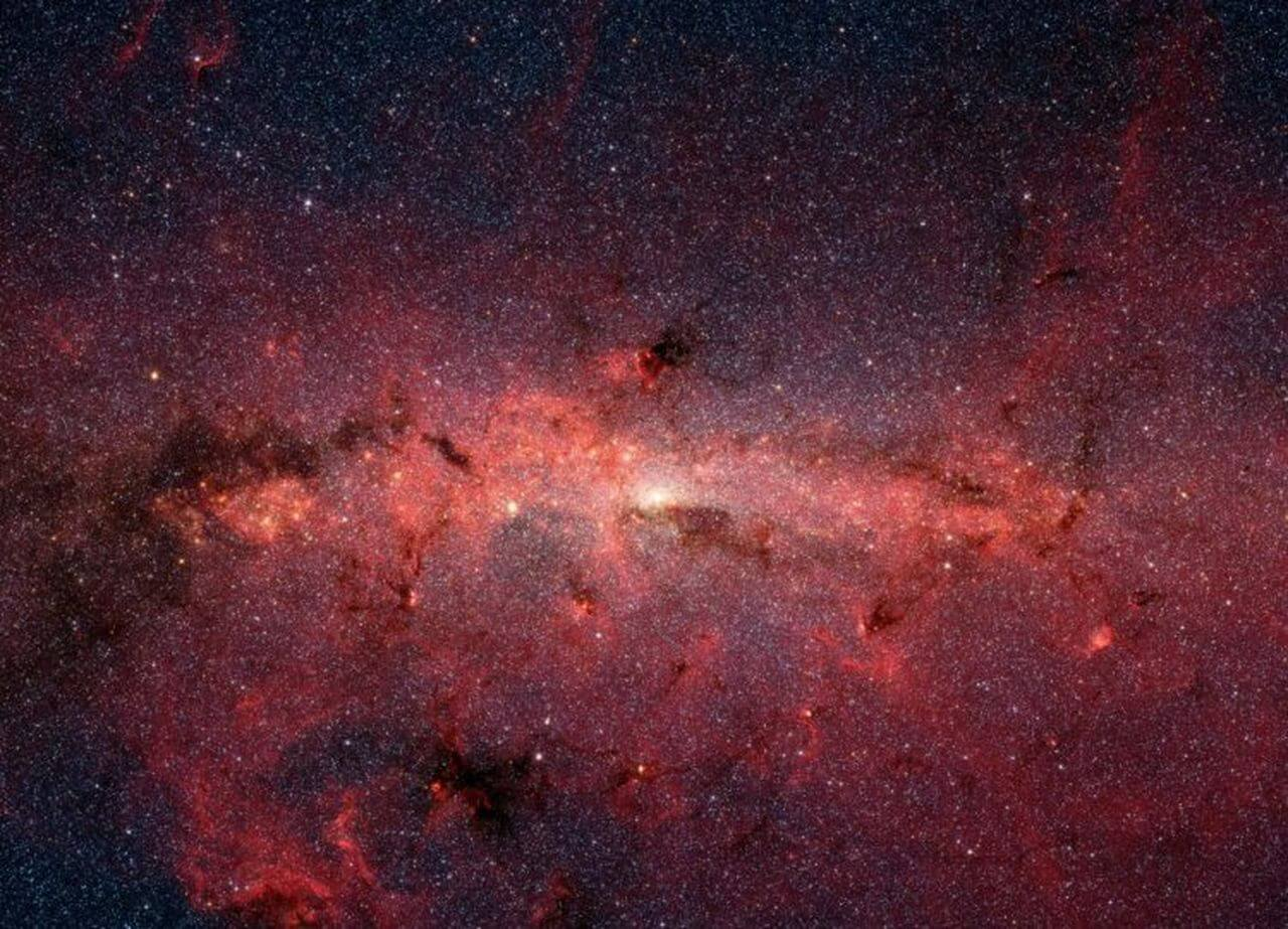 звездное ядро галактики Млечный Путь