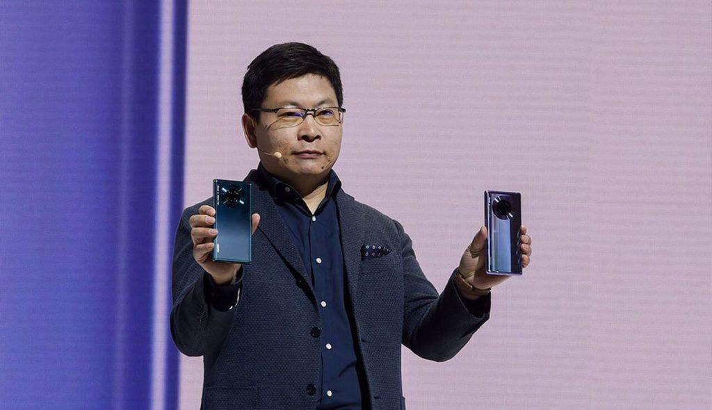 Генеральный директор Huawei Юй Чендун