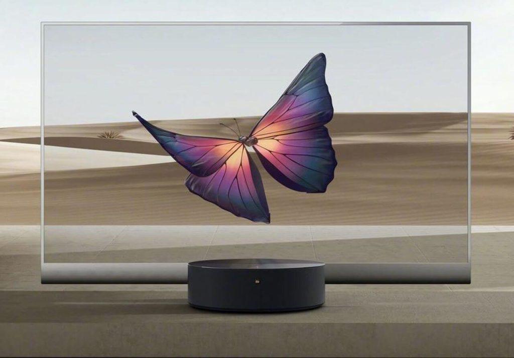 Прозрачный телевизор Xiaomi