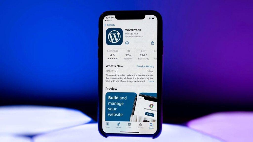 WordPress в App Store