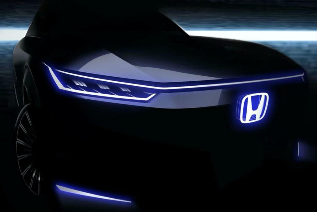 электрокар Honda